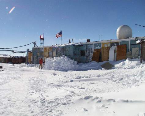 The coldest place on Earth: Vostok Station