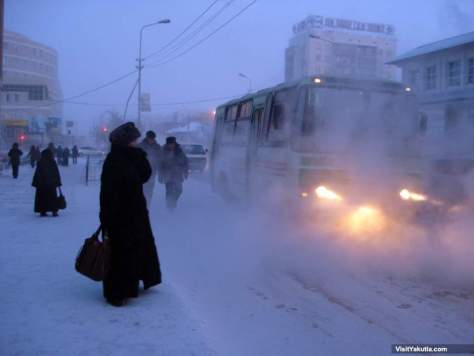 The coldest city on Earth: Yakutsk