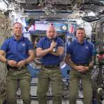 "A ""Happy New Year"" Message from the International Space Station"