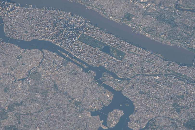 New York From International Space Station, May 23, 2015