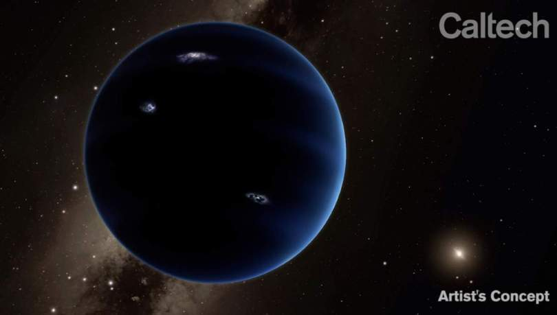 Ninth Planet, artist's concept