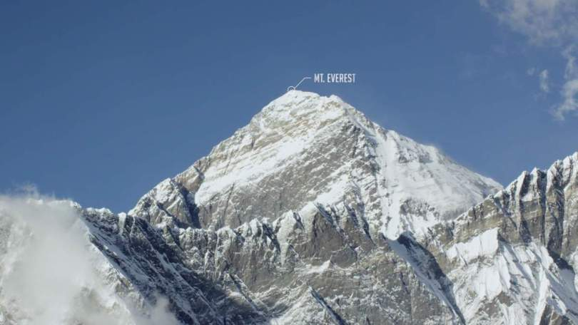 The summit of Mount Everest-2