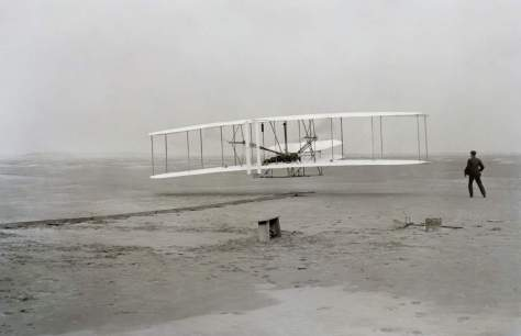 First flight of the Wright flyer-1903