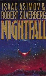 Nightfall cover, Isaac Asimov & Robert Silverberg