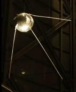 Replica of Sputnik 1