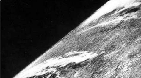 Earth facts - The first photo of Earth from the Space