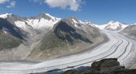 The Aletsch Glacier, Switzerland