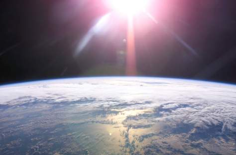Sunrise from space (NASA)
