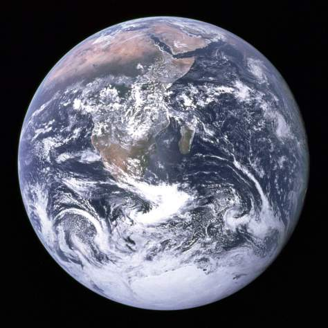 The Blue Marble - One of the most famous photos of Earth from space.