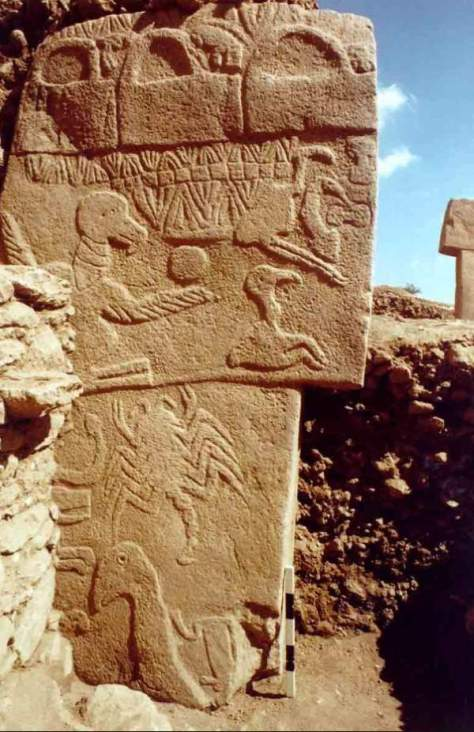 Ancient carvings show a comet hit Earth 13,000 years ago - Vulture Stone (Göbekli Tepe)