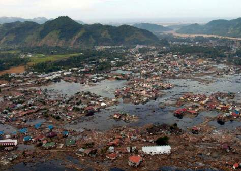 One of the most powerful earthquakes in history - a village after 2004 Indian Ocean Tsunami