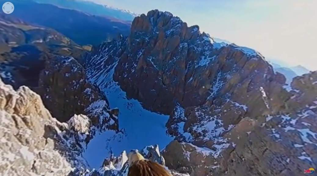 Dolomites from an Eagle's Point of View