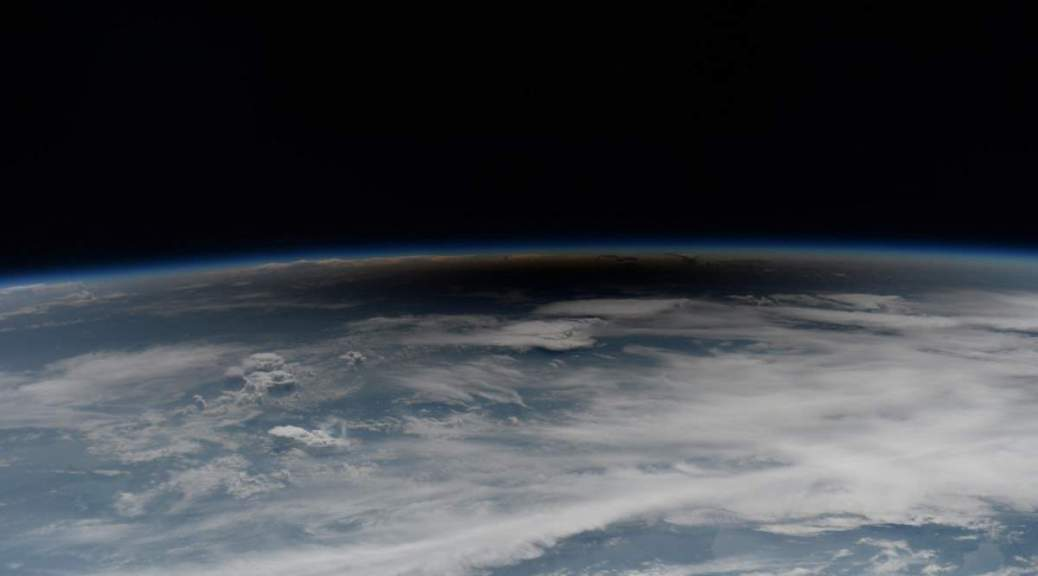 2017 Total Solar Eclipse fom the ISS