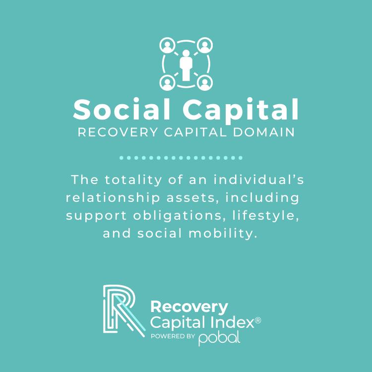 Social Capital Recovery Capital Domain by David Whitesock RCI