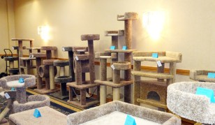 cat towers - 6in