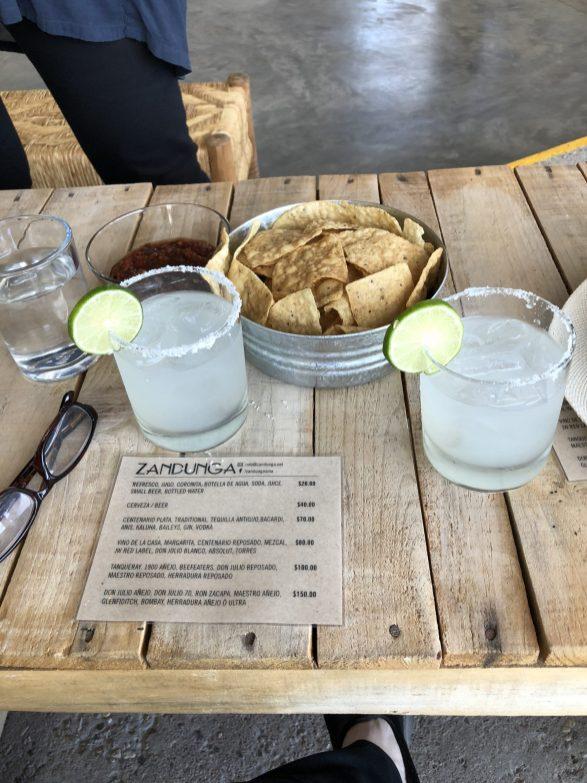 Killer Margaritas at Zandunga