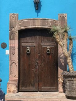 Ah, the doors of San Miguel de Allende