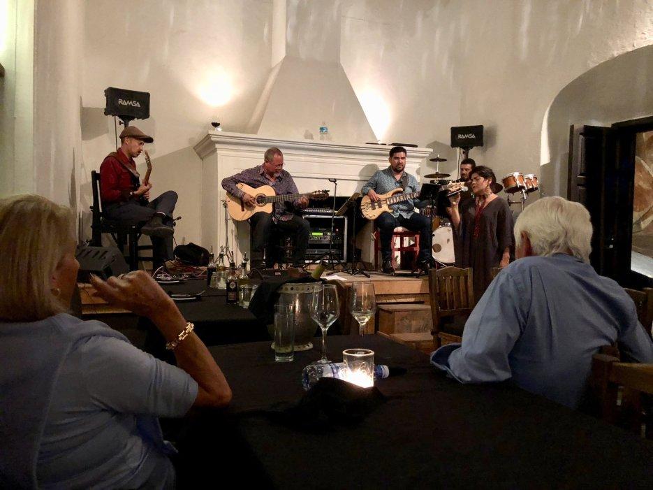 Bistro Mi Casa with Gil Gutierrez and the gang in San Miguel de Allende