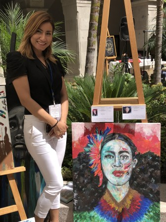 Art walk at the Rosewood Hotel in San Miguel