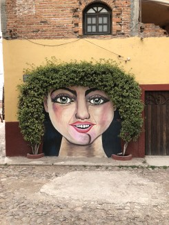 One of the many murals in San Miguel de Allende