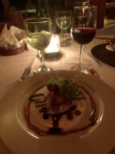 Yummy Red Snapper entree