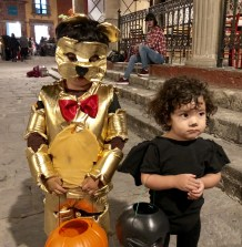 Everyone gets into Halloween