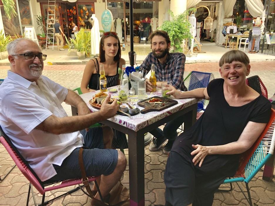 Glenn, Anya, Gil and I