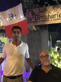 Ivan at La Brocherie