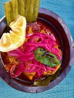 Cochinita Pibil at El Atrio
