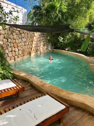 refreshing pool awaits at Casa Marlene