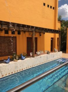 pool at Casa de Los Venados