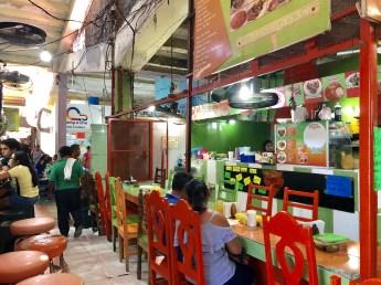Campeche Mercado food stalls