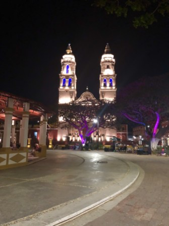 Campeche main square