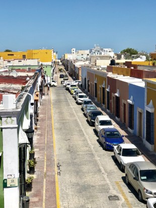 Colorful Campeche streets