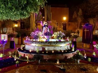 altar for Viernes de Dolores