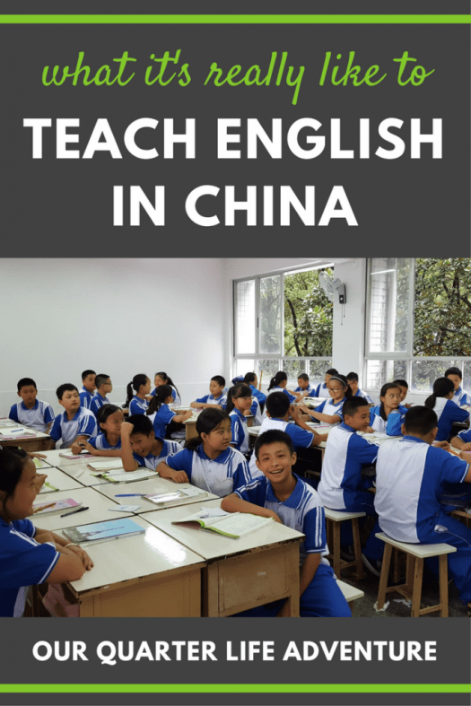 Teach English in China Our Quarter Life Adventure