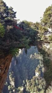 Zhangjiajie National Forest Park China Yuanjiajie Avatar Mountains Greatest Natural Bridge