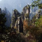 Zhangjiajie National Forest Park China Tianzi Mountain