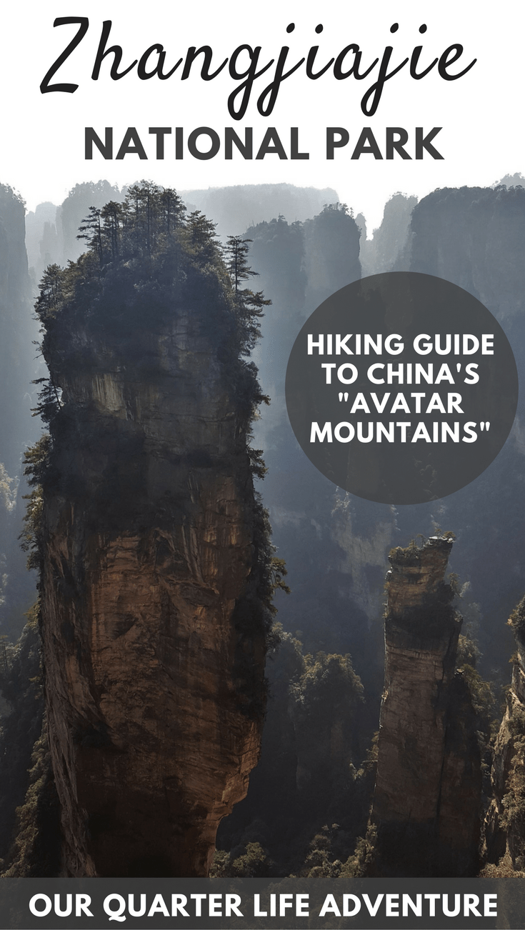 Zhangjiajie National Forest Park China Avatar Mountains Hiking Guide