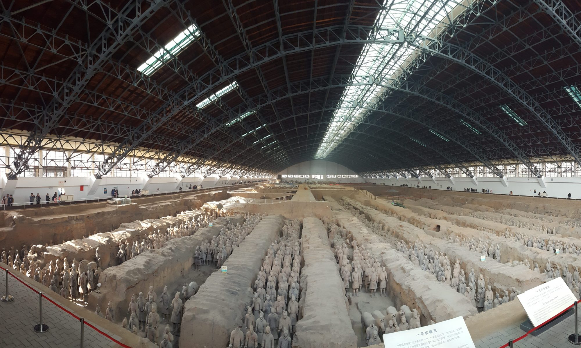 Terra Cotta Warriors Xian China Pit 1 Our Quarter Life Adventure