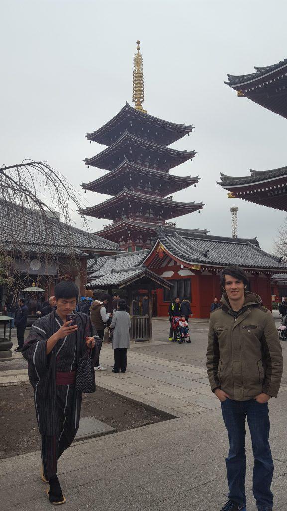 Sensoji Temple Tokyo Pagoda