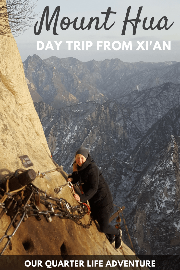 Mount Hua Day trip from Xian China Our Quarter Life Adventure Travel Blog