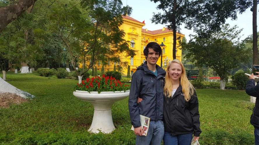 Ho Chi Minh Complex Hanoi Vietnam Palace