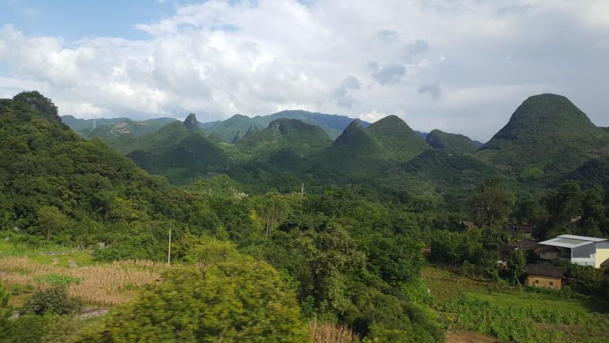 Mountains China