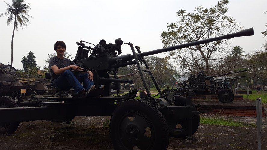 Hue Central Vietnam Military Vehicle Park