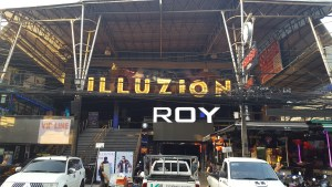 Phuket Thailand Bangla Walking Street Patong Bars Illuzion