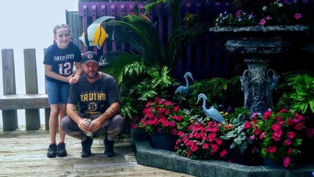 Flowers in Cedar Key