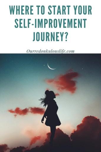start your self-improvement journey