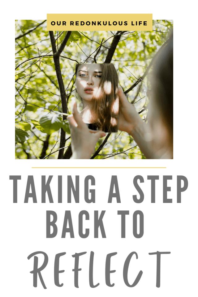 Taking a step back