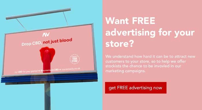 Our remedy CBD advertising